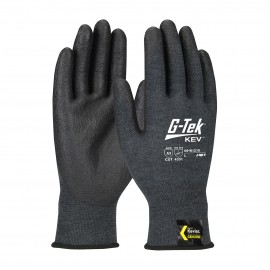 PIP 09-K1218/M G-Tek Seamless Knit Kevlar® Blended Glove with NeoFoam Coated Palm & Fingers Touchscreen Compatible Medium 6 DZ