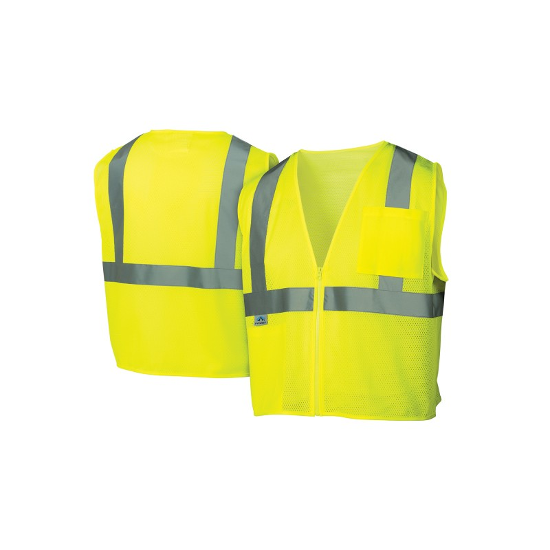 Pyramex RVZ21SE Series Type R - Class 2 Non FR Self Extinguishing  Safety Vests 1/EA