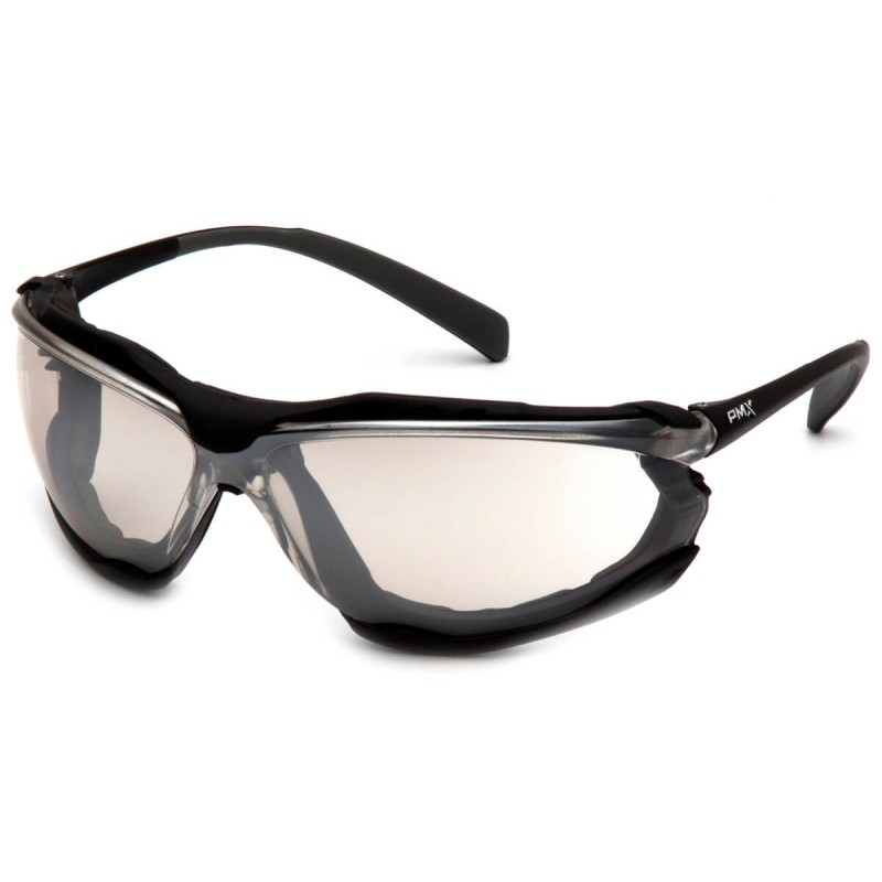Pyramex Safety - Proximity - Black frame/ Indoor-Outdoor anti-fog lens Polycarbonate Safety Glasses - 12 / BX