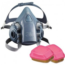 3M 7500 Series Half Mask Multi-Purpose Respirator
