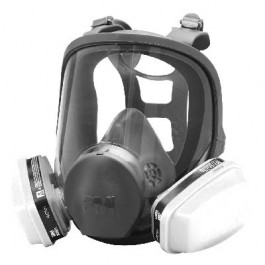 3M 6000 Series Full Face Paint Spray Pesticide Respirator