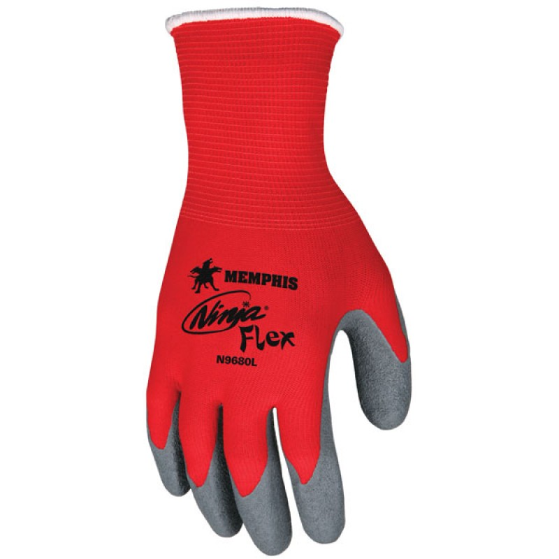MCR Ninja Flex N9680 Latex Coated Gloves (1 DZ)