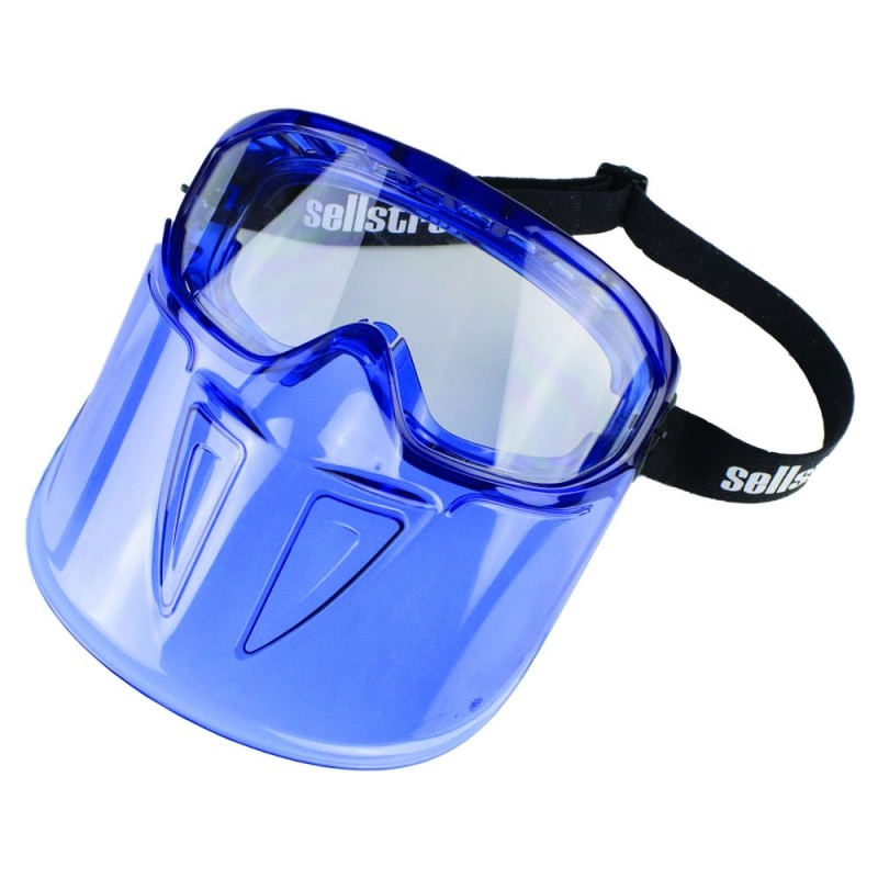 Safety Face Shield >> Surewerx S80300 Gps300 Premium Safety Goggle With Detachable Face Shield
