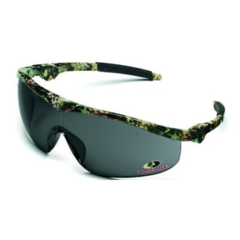 21fe6bfff83 Storm Safety Glasses with Mossy Oak Camo Frame and Grey Lens