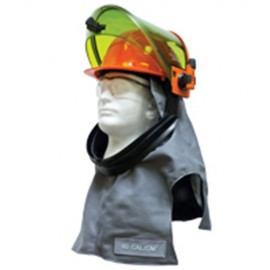 Salisbury LFH40 Arc Flash 40 Cal Lift Hood  Gray Color One Size - 1 / EA