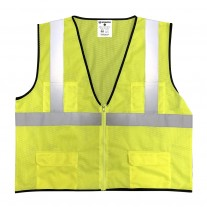 Sprighten Economy Vest - Class 2 - All Mesh - Yellow (1 EA)