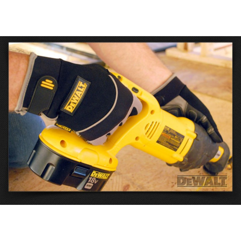 DeWalt Anti-Vibration Heavy Utility Gloves - Personal Protective Equipment - Envrio Safety Products, envirosafetyproducts.com