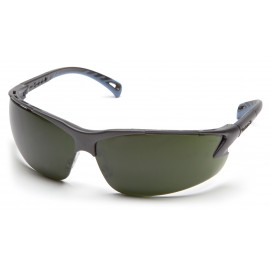 Pyramex Safety - Venture 3 - Black Frame/5.0 IR Filter Anti-Fog Lens Polycarbonate Safety Glasses - 12 / BX
