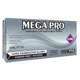 Ansell L85 Mega Pro Latex Exam Gloves
