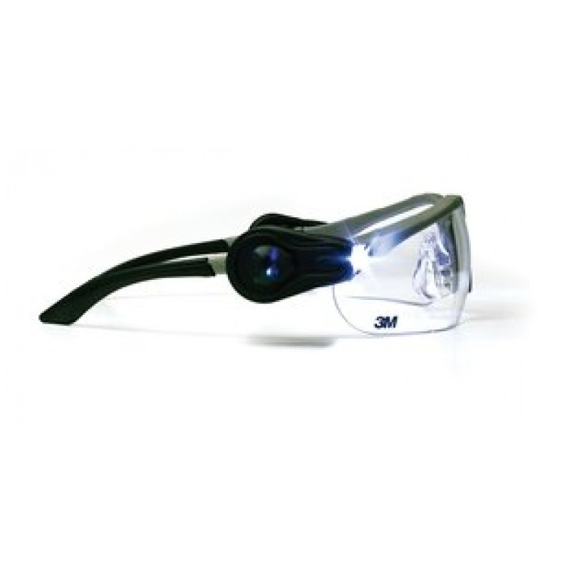light vision 2 led safety glasses ao safety glasses. Black Bedroom Furniture Sets. Home Design Ideas
