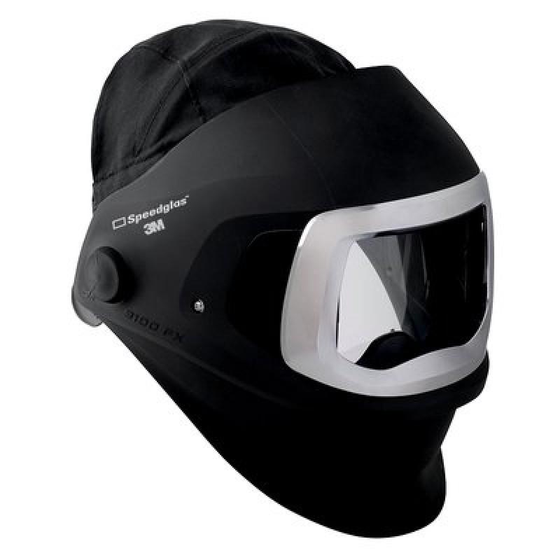 3M™ Speedglas™ Welding Helmet 9100 FX 06-0700-72SW, with side windows, headcover, and front panel, without headband (no Auto-Darkening Filter) -- OBSOLETE