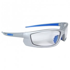 Voltage Safety Glasses - Silver Frame, Clear Lens