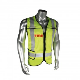Radians Radwear Fire Public Safety Vests Hi-Vis Green Color - 1 Each