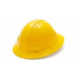 Pyramex HP26130 SL Series Full Brim Hard Hat Yellow Color - 12 / CS