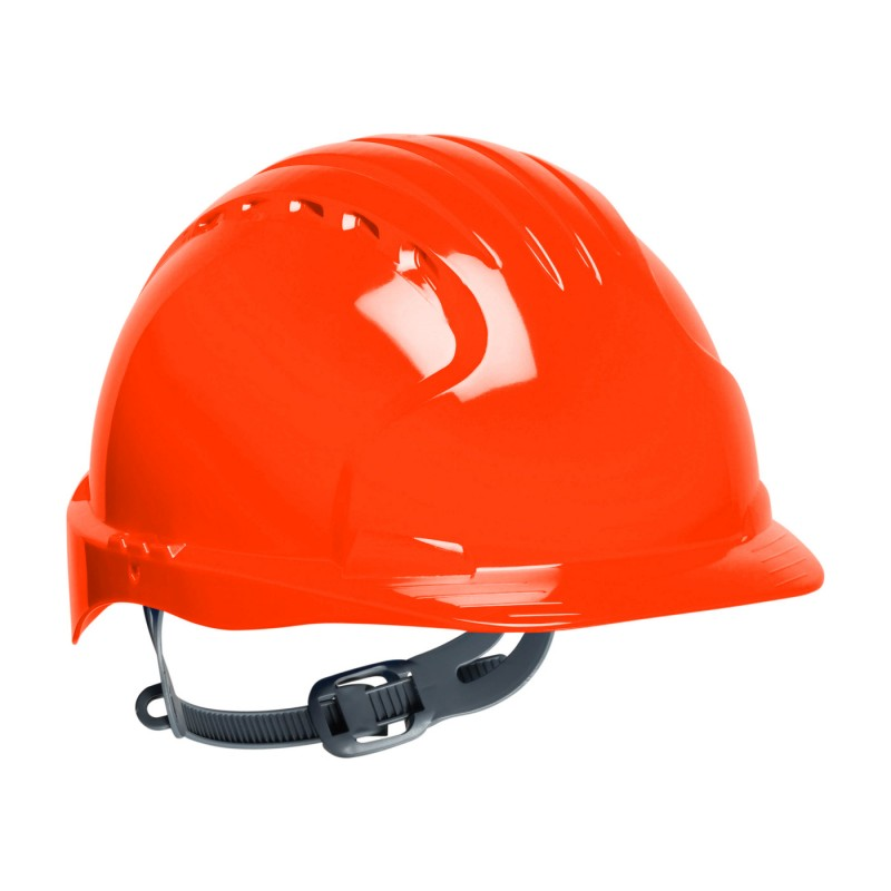 PIP Evolution Deluxe 6131 Standard Brim Hard Hat Orange Color 10/Case