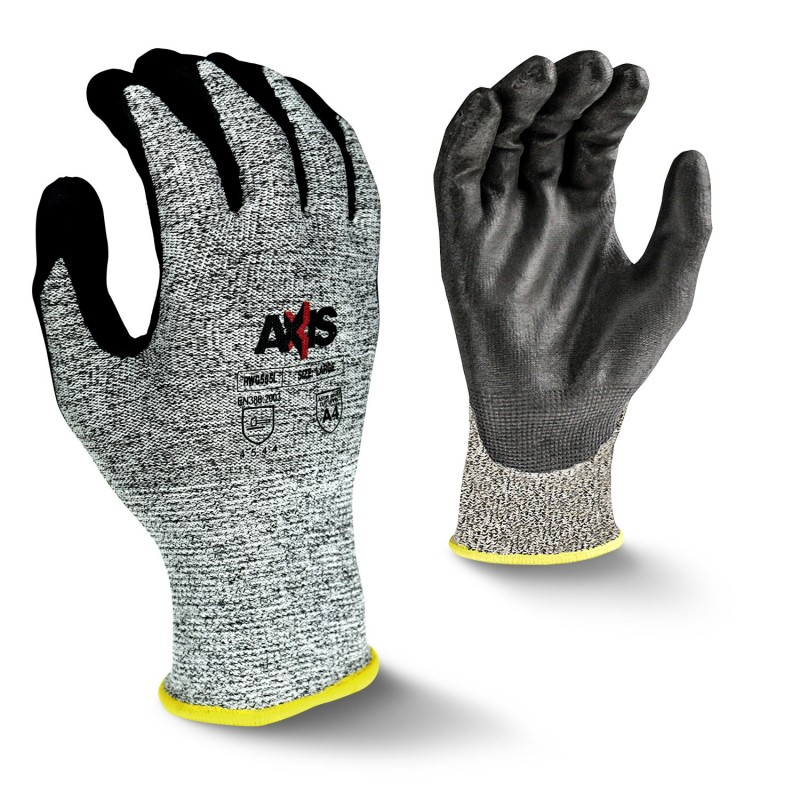Radians Axis RWG555 Work Gloves, Cut Level A4 (1 DZ)