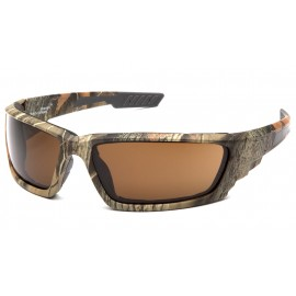 Venture Gear Brevard Cammo Frame/ Bronze AntiFog Lens Safety Glasses 1 / EA
