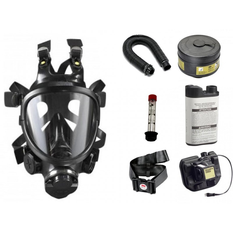 Cbrn Facepiece Powered Air Purifying Respirator System