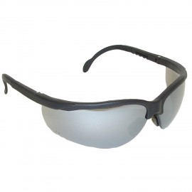Radians Journey Silver Mirror Safety Glasses 12 PR/Box
