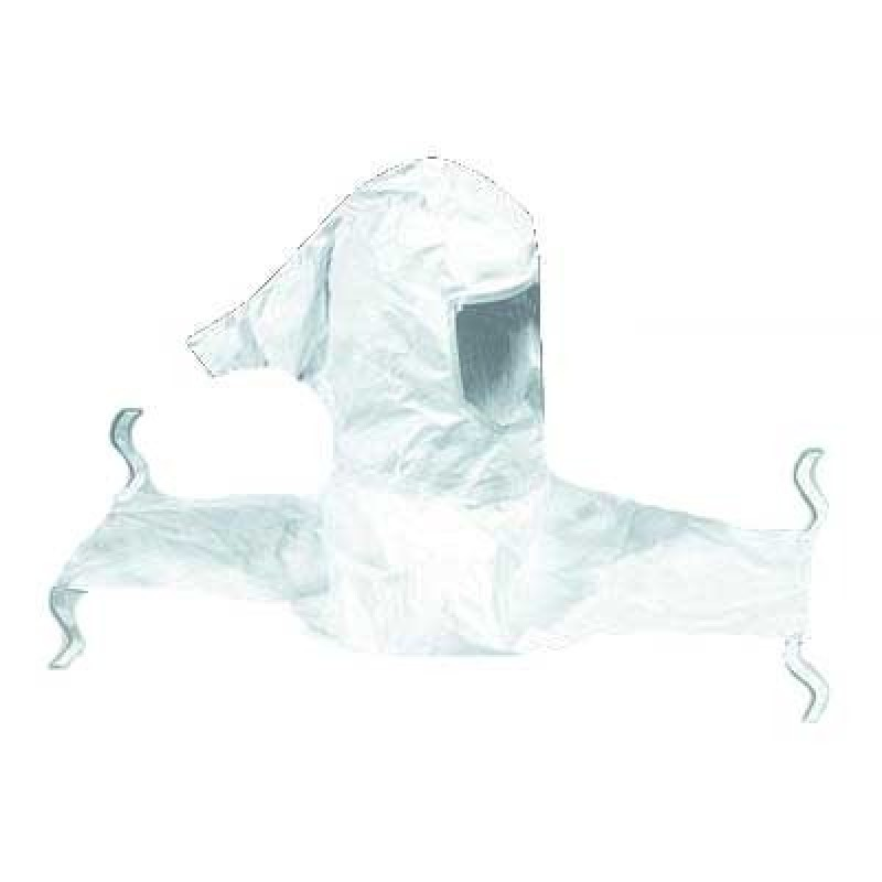 3M™ Sealed-Seam Respirator Hood H-610-5, Collar 5 EA/Case