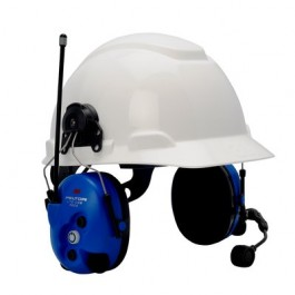 3M™ PELTOR™ Lite-Com Pro II Two Way Radio Headset MT7H7P3E4010-NA-50, Hard Hat Model