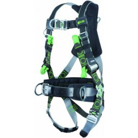 Miller Revolution Harness Back and Hip D-Rings with Tongue Buckle Legs