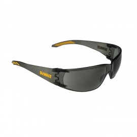 DEWALT Rotex- Smoke Lens Safety Glasses Frameless Style Smoke Color - 12 Pairs / Box