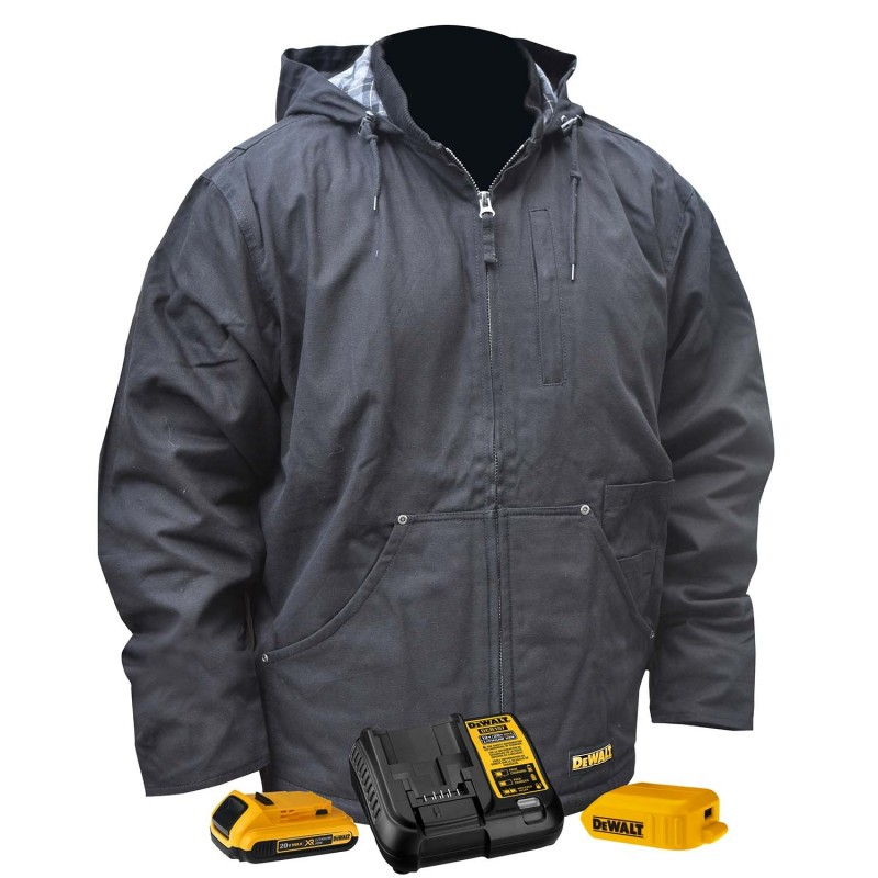 DeWALT DCHJ076ABD1 Heated Heavy Duty Work Coat