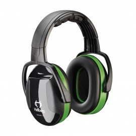 PIP Secure 1 Passive Ear Muff  Adjustable Headband  NRR 23 EarMuff Green One Size  1 PR