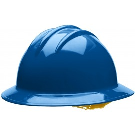 Bullard Kentucky Blue AboveView HDPE Full Brim Hard Hat  Flex Gear 4 Point Ratchet Suspension 20/Case