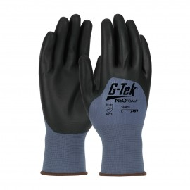 PIP 34-603/L G-Tek Seamless Nylon Glove with NeoFoam Coated Palm, Fingers & Knuckles Touchscreen Compatible Large 12 DZ