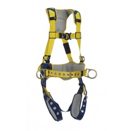 3M™ DBI-SALA® Delta™ Comfort Construction Style Positioning Harness 1100797, Yellow, Large