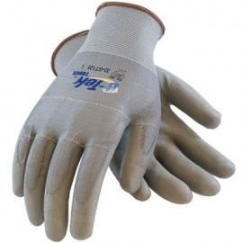 PIP 33-GT125/M G-Tek Seamless Knit Nylon / Polyester Glove with Polyurethane Coated Smooth Grip on Palm & Fingers Touchscreen Compatible Medium 25 DZ
