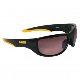 DEWALT Dominator- Gradient Lens Safety Glasses Full Frame Style Black Color - 12 Pairs / Box