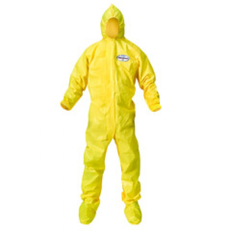 Kleenguard A70 Chemical Spray Protection Coverall MED - case/12 - Bound Seams