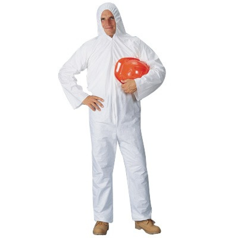 Lakeland Pyrolon Plus 2 Disposable Coveralls Attached Hood 25/Case