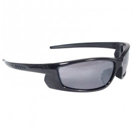 Radians Voltage Safety Glasses - Black Frame, Smoke Lens 12/Box