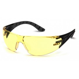 Pyramex Endeavor Plus Safety Glasses Amber Lens Color - 12 per Box
