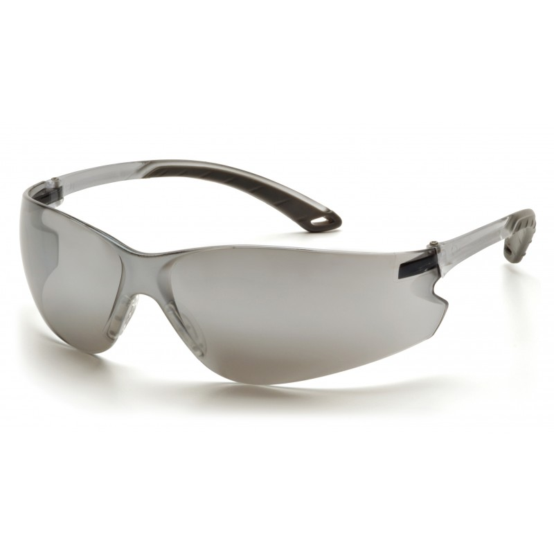 Pyramex Safety - Itek - Silver Mirror Frame/Silver Mirror Lens Polycarbonate Safety Glasses - 12 / BX