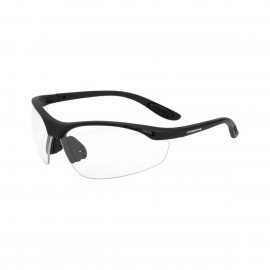 Radians Talon Clear Matte Black Safety Glasses 12 PR/Box