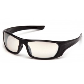Pyramex  Outlander  Black Frame/IndoorOutdoor Mirror AF Lens  Safety Glasses  12/BX