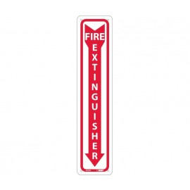 NMC M23R Fire Extinguisher Sign 18x4
