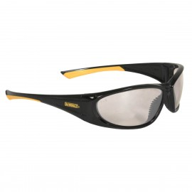 DEWALT Gable - Indoor/Outdoor Lens Safety Glasses Full Frame Style Black Color - 12 Pairs / Box