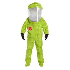 DuPont™ Tychem® 10000 TK554T LY Level A, Front Entry, Expanded Back Extra-Wide Faceshield (1 Per Case)