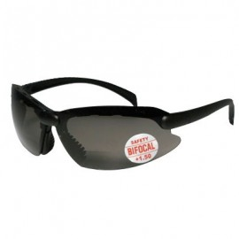 Mag-Safe C-2000 Bifocal Safety Glasses- Smoke Lens 1/DZ