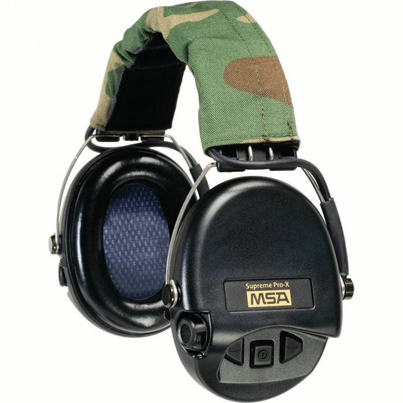MSA 10153057 Supreme Pro-X Headband Ear Muffs - 18dB NRR