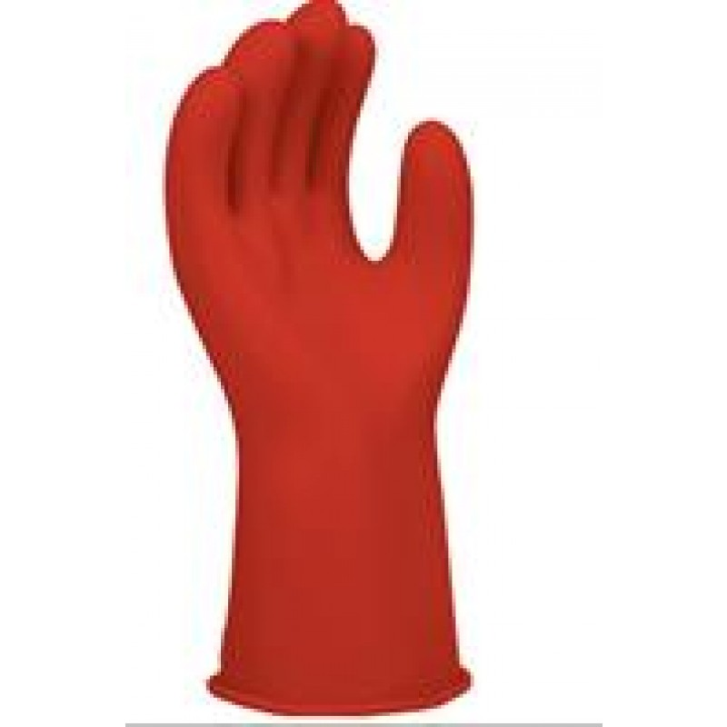 Red Class 0 Insulating Rubber Gloves