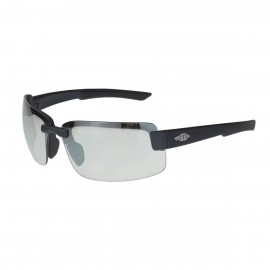 Radians Crossfire ES6 I/O, Matte Black Frame Safety Glasses 12 PR/Box
