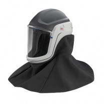3M™ Versaflo™ M-407 Respiratory Helmet Assembly with Premium Visor and Flame Resistant Shroud