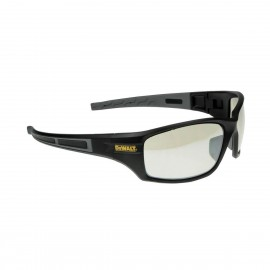 DEWALT Auger - Indoor/Outdoor Lens Safety Glasses Full Frame Style Black Color - 12 Pairs / Box